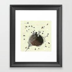 their planet was... Framed Art Print