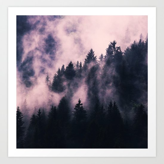 Foggy Night #society6 #decor #buyart Art Print