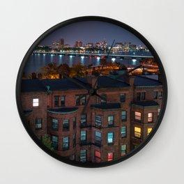 Boston Architecture Wall Clock