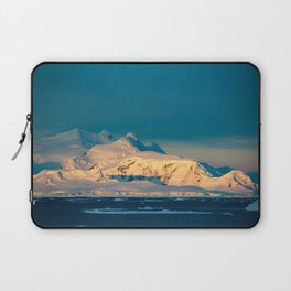 sunset over the Antarctic Laptop Sleeve