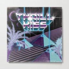 Thrillkiss Laser Pyramids Metal Print
