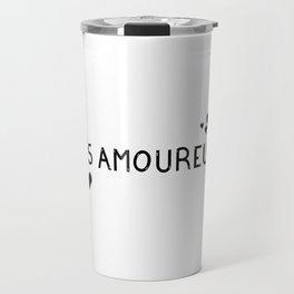 Les amoureux  Travel Mug