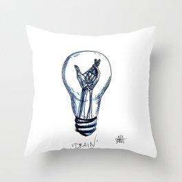 Drain Throw Pillow