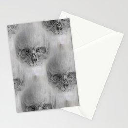 skulls and skulls Stationery Cards