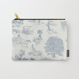 Shire Toile Carry-All Pouch