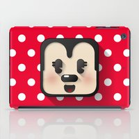 minnie mouse iPad Cases featuring minnie mouse cutie by designoMatt