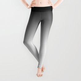 White-black Ombre Leggings