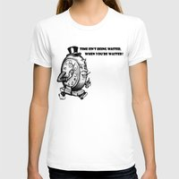 wasted rita T-shirts featuring Time wasted by Adam Metzner