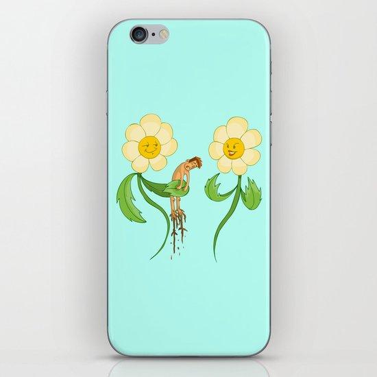 Planting Revenge iPhone Skin