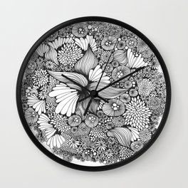 macrocosm Wall Clock