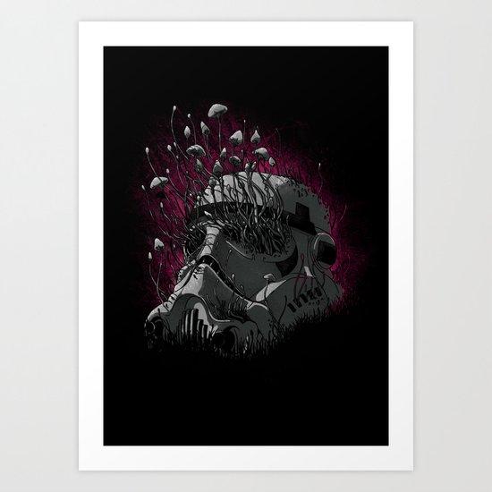 Shroom Trooper Art Print