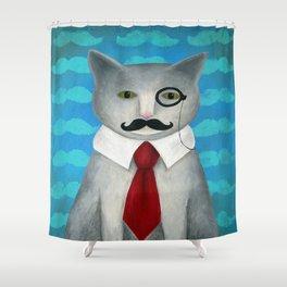 Sir Conrad Pennyworth III Shower Curtain