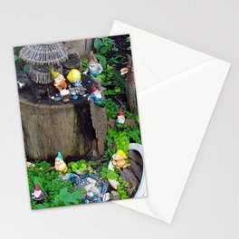 Dwarf/Gnome Mining Camp Stationery Cards