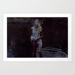 Water graves 5 Art Print