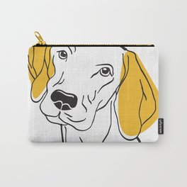 Dog Modern Line Art Carry-All Pouch