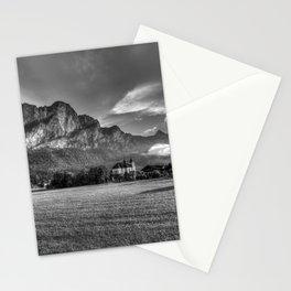 St Lorenz Austria Monochrome Stationery Cards