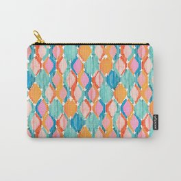 marmalade balinese ikat mini Carry-All Pouch