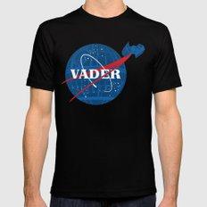 Star Wars - Imperial Space Program Mens Fitted Tee MEDIUM Black
