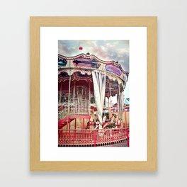 San Francisco Carousel Pier 39 Photo Print Framed Art Print