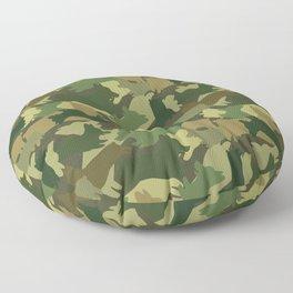 Corgi Camo Floor Pillow
