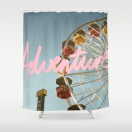 Looking Up I - Adventure Shower Curtain