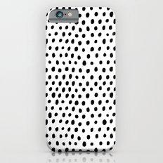 Polka dot rain Slim Case iPhone 6