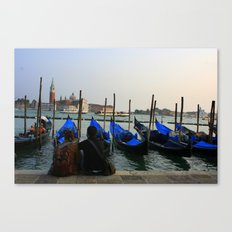 Gondola Parking Canvas Print