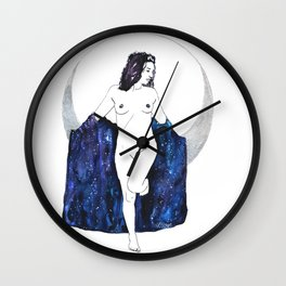 Moon Magick Wall Clock
