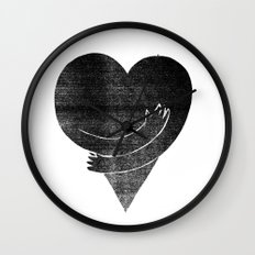 Illustrations / Love Wall Clock