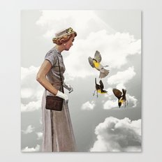 third beat Canvas Print