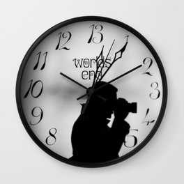 Decisive moment Wall Clock