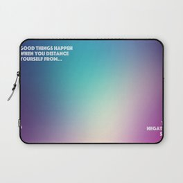 Good Things Happen Laptop Sleeve