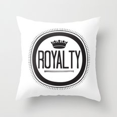 You Are #Royalty Throw Pillow