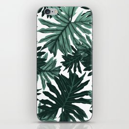 Philo Hope - Tropical Jungle Leaves Pattern #6 #tropical #decor #art #society6 iPhone Skin