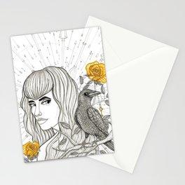 Goddess Morrigan Inktober 2016 Stationery Cards