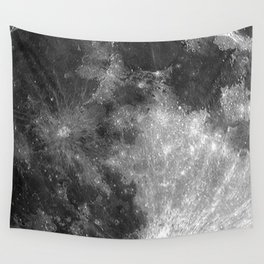 Black & White Moon Wall Tapestry