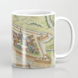 Vintage Eindhoven Netherlands Map (1590) Coffee Mug