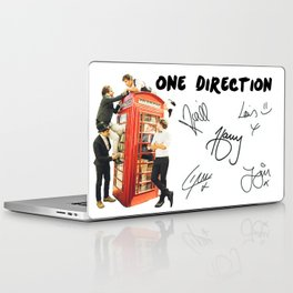 One Direction - Phone Booth Laptop & iPad Skin