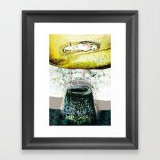 vitriol 5 Framed Art Print
