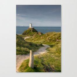 Llanddwyn Lighthouse Canvas Print
