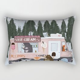 ice cream time Rectangular Pillow