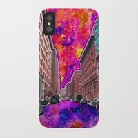 Downtown NYC iPhone X Slim Case