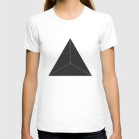 triangle T-shirts featuring Triangle by Andrea Roman