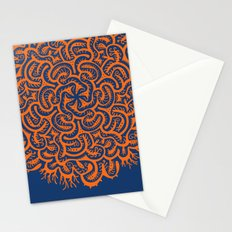 Bugs Maze (orange) Stationery Cards