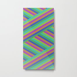 Stripes By Shuvaloff Metal Print