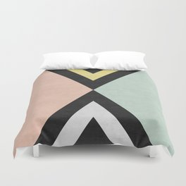 Fashion and gold art Duvet Cover