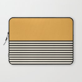 Sunrise / Sunset VI - Yellow & Black Laptop Sleeve