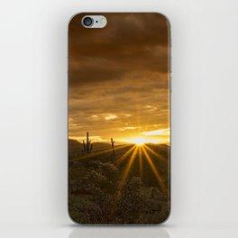 A Southwestern Sunrise iPhone Skin