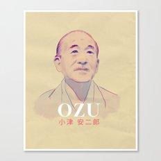 Yasujirō Ozu Canvas Print