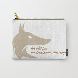 An old fox understands the trap Carry-All Pouch